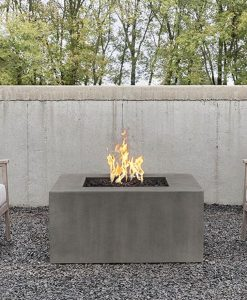 square patio fire pit
