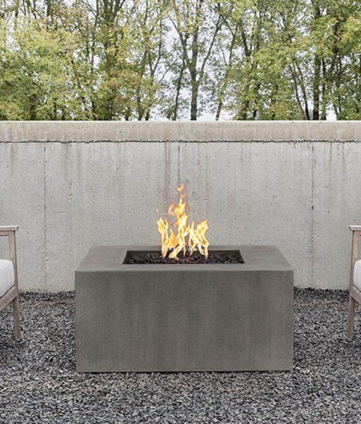 square patio fire pit
