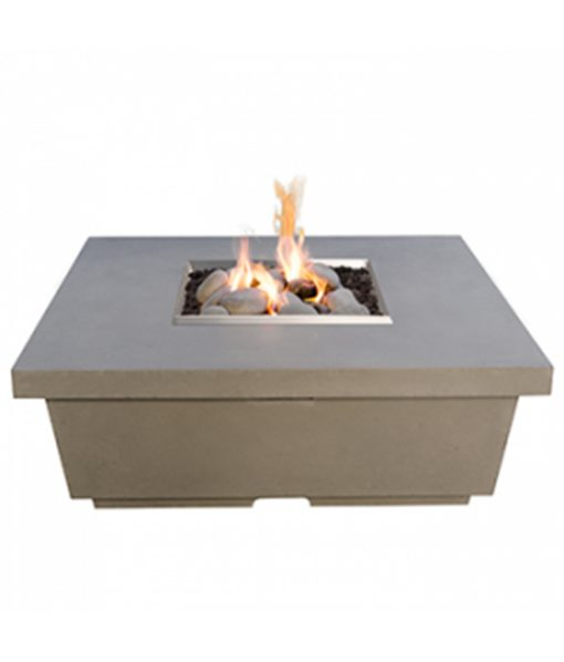 square propane fire table