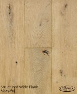 light brown rustic plank flooring