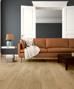 light brown living room floor