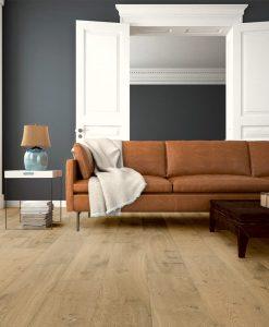 light brown living room floor