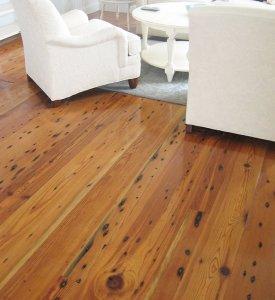 Reclaimed Antique Heart Pine Wood Plank Cape Cod Boston